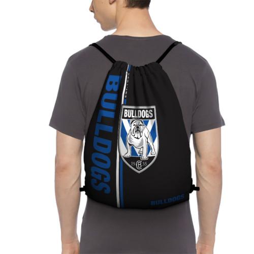 NRL Canterbury-Bankstown Bulldogs Edition Drawstring Backpack Sports Gym Bag