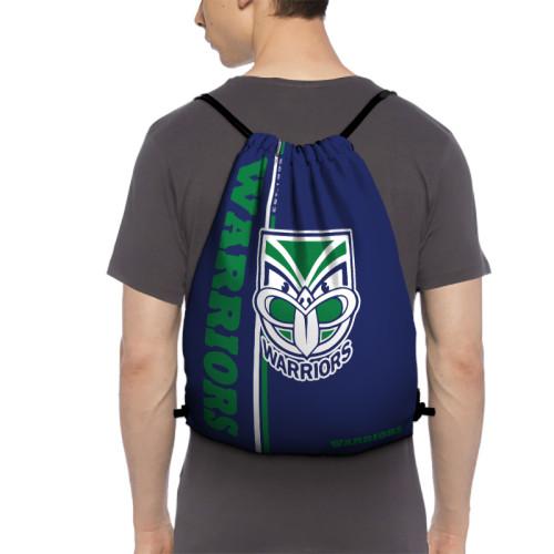 NRL New Zealand Warriors Edition Drawstring Backpack Sports Gym Bag