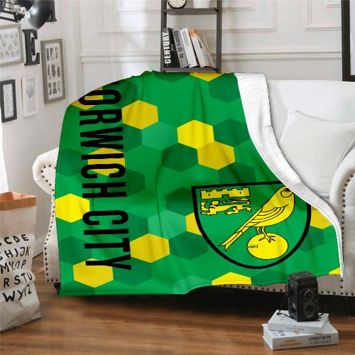 Premier League Norwich City Edition Blanket