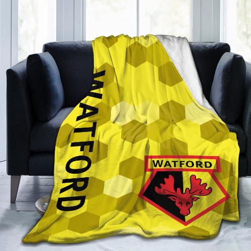 Premier League Watford Edition Blanket