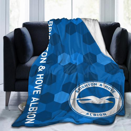 Premier League Brighton Edition Blanket