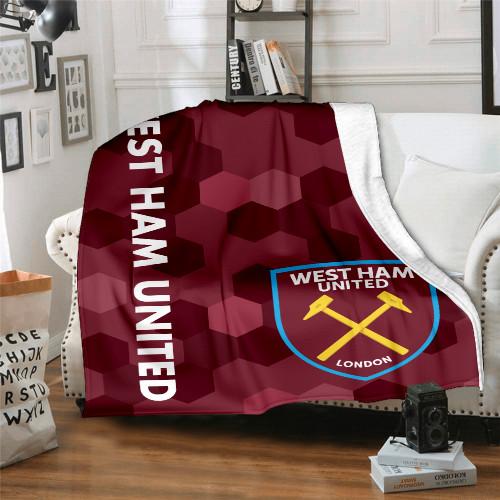 Premier League West Ham Edition Blanket
