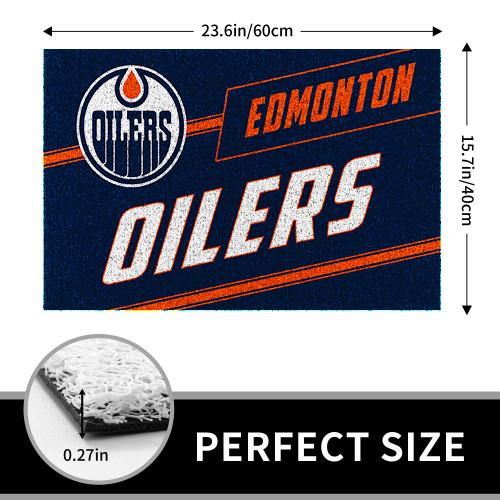 NHL Edmonton Oilers Edition Waterproof Welcome Door Mat
