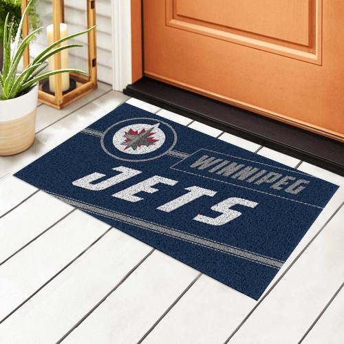 NHL Winnipeg Jets Edition Waterproof Welcome Door Mat