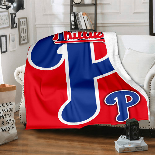 MLB Philadelphia Phillies Edition Blanket