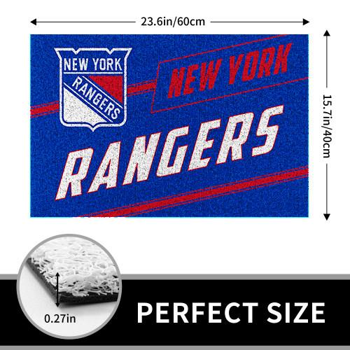 NHL New York Rangers Edition Waterproof Welcome Door Mat