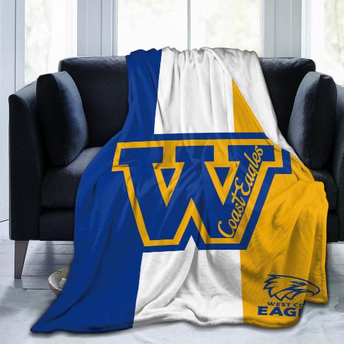 AFL West Coast Eagles Edition Blanket