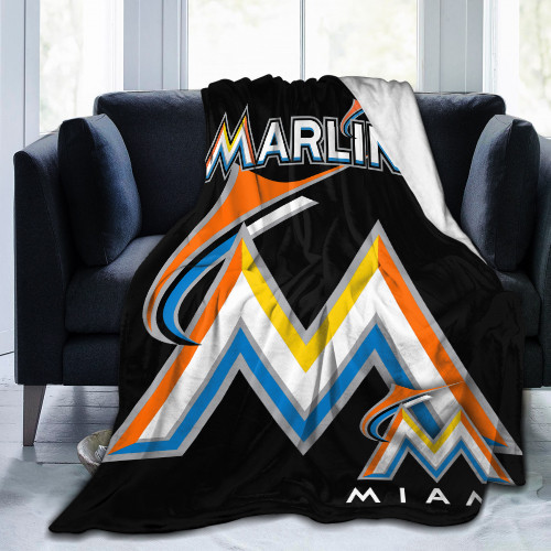 MLB Miami Marlins Edition Blanket