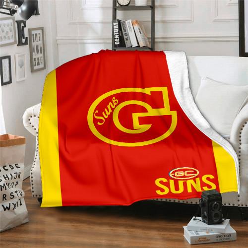 AFL Gold Coast Suns Edition Blanket