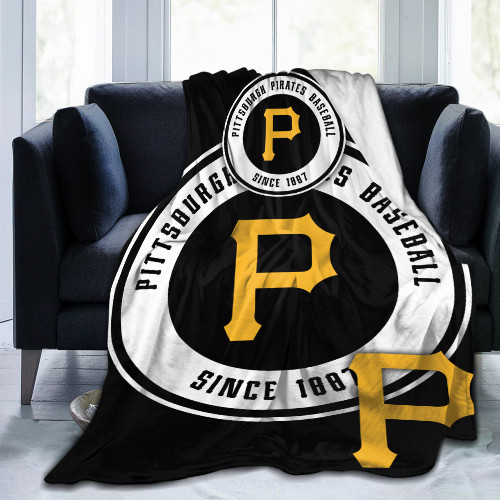 MLB Pittsburgh Pirates Edition Blanket