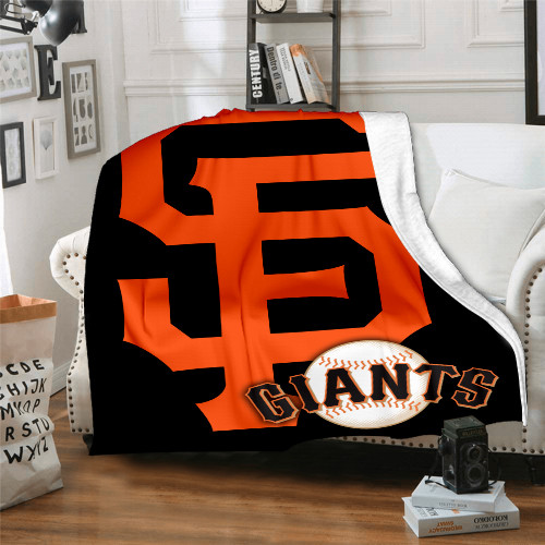 MLB San Francisco Giants Edition Blanket