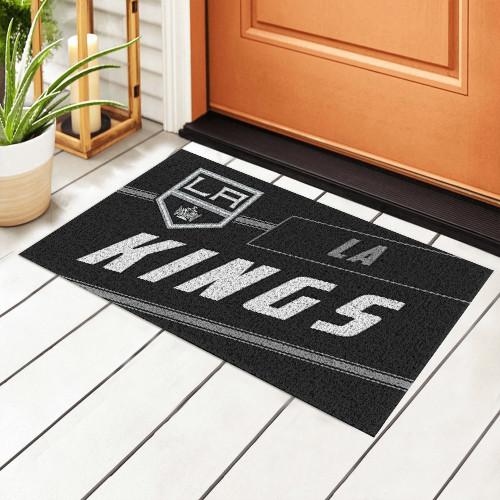 NHL Los Angeles Kings Edition Waterproof Welcome Door Mat