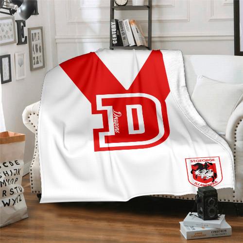 NRL St. George Illawarra Dragons Edition Blanket