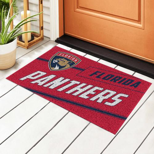 NHL Florida Panthers Edition Waterproof Welcome Door Mat