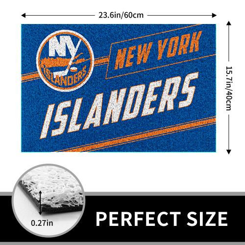 NHL New York Islanders Edition Waterproof Welcome Door Mat