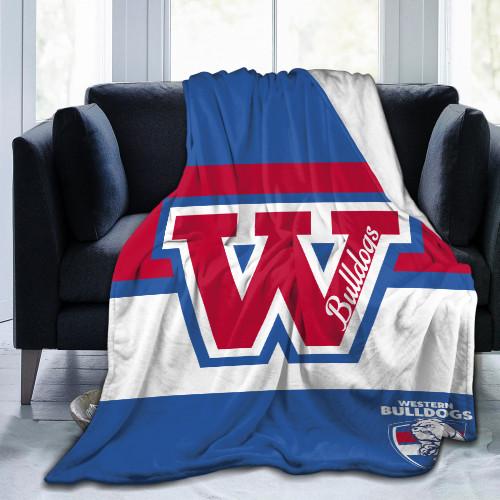 AFL Western Bulldogs Edition Blanket