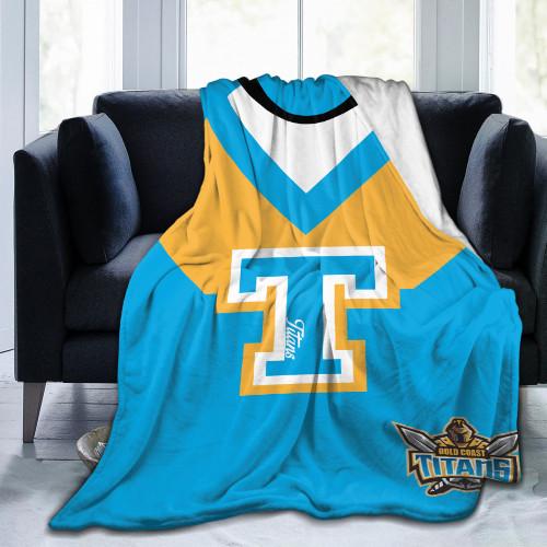 NRL Gold Coast Titans Edition Blanket
