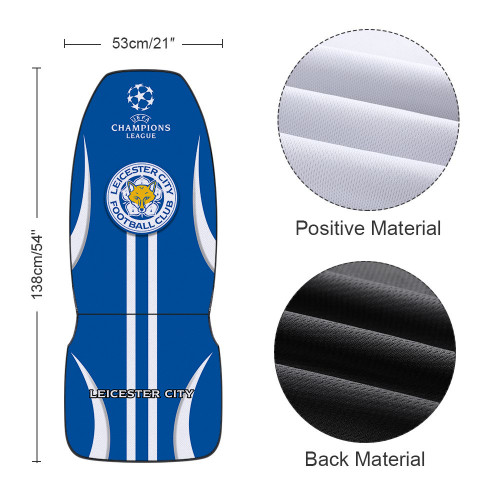 Premier League Leicester City Edition Car Seat Cover