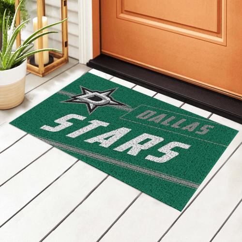 NHL Dallas Stars Edition Waterproof Welcome Door Mat