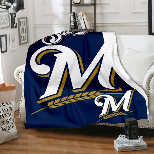 MLB Milwaukee Brewers Edition Blanket