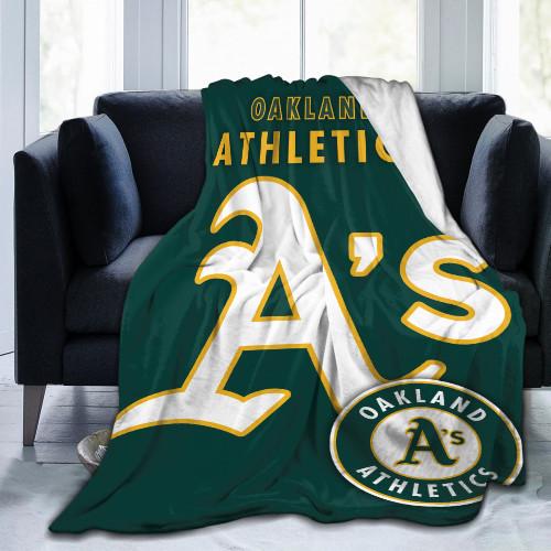 MLB Oakland Athletics Edition Blanket