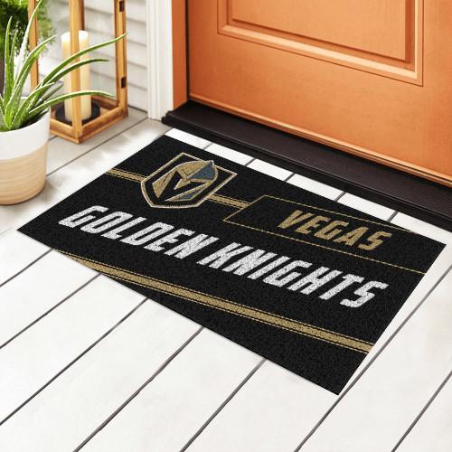 NHL Vegas Golden Knights Edition Waterproof Welcome Door Mat