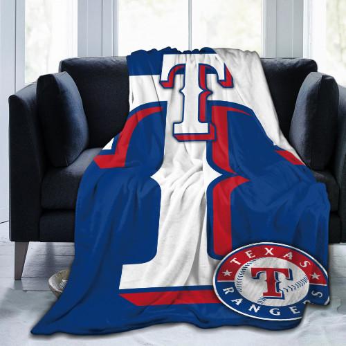 MLB Texas Rangers Edition Blanket