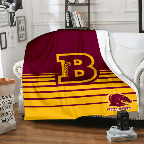 NRL Brisbane Broncos Edition Blanket