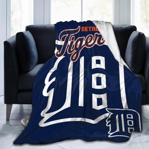 MLB Detroit Tigers Edition Blanket