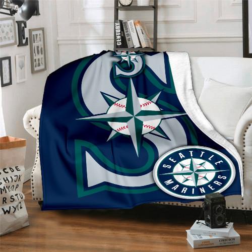MLB Seattle Mariners Edition Blanket