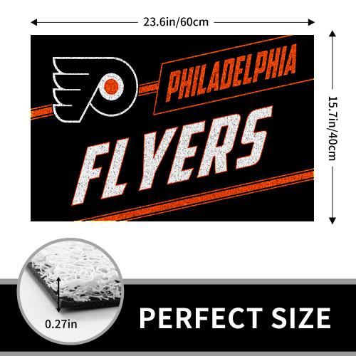 NHL Philadelphia Flyers Edition Waterproof Welcome Door Mat