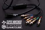 Retro nostalgic game console RGBS-RCA/BNC cable