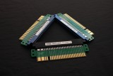 Arcade base board jamma gold finger protection, replace wear connector