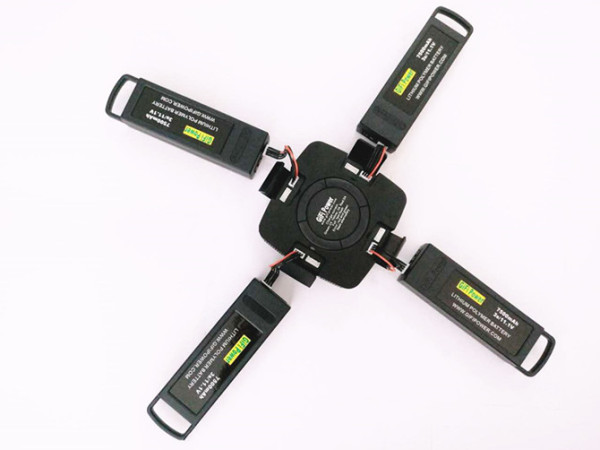 4 in 1 Multi Fast Charger For Yuneec Typhoon Q500 Batteries
