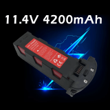 11.4V 4200mAh Battery For Hubsan Zino H117S, Zino Pro Drone