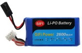 2600MAH BIG UPGRADE BATTERY FOR PARROT AR DRONE 1.0 & 2.0