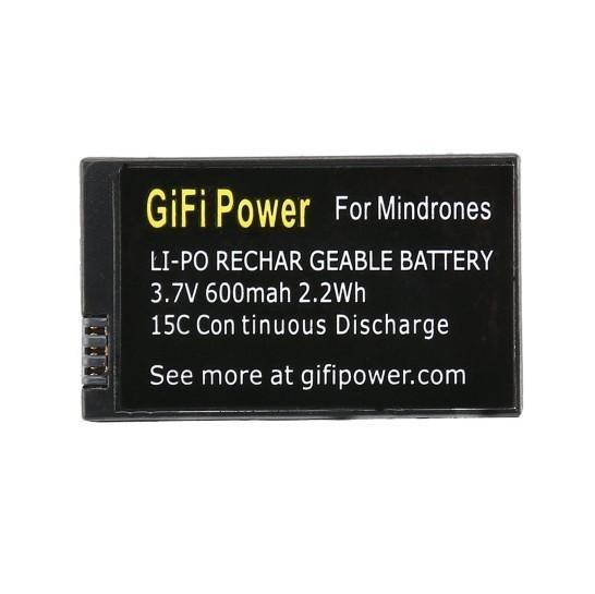 3.7v 600mAh Lipo Battery For Parrot MiniDrones Jumping Sumo &Rolling Spider, Mambo