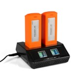 2 In 1 Fast Balance Charger For YUNEEC H520, TYPHOON H PLUS Battery & Transmitter