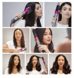 Airwrap/Hair Styler for Multiple Hair Types 8 accessories US/UK/EU plug