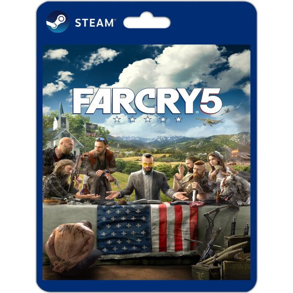 Far Cry 5 original PC steam game download play offline