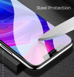 2pcs iPhone Steel Screen Protector Film 360 Tempered Glass