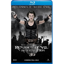 Resident Evil 5 Retribution bd hd movie