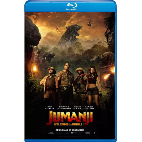 Jumanji Welcome to the Jungle bd hd movie