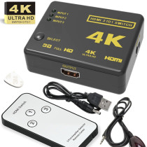 4K*2K 3 in 1 Out HDMI Video Switcher with remote control