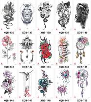 15 pcs Half Arm Temporary Tattoo Sticker Waterproof XQB136-150