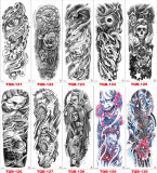 10 pcs Full Arm Temporary Tattoo Sticker Waterproof TQB121-130