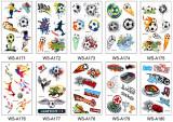 10 pcs Football Temporary Tattoo Sticker Waterproof WSA171-180