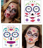 18 pcs Halloween Temporary Tattoo Sticker Waterproof SYB123-131/148-156