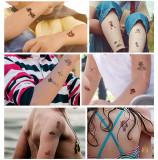 10 pcs Kids Temporary Tattoo Sticker Waterproof Pirates WS183-192