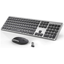 Rechargeable Wireless Keyboard Mouse Combo